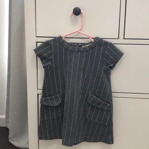Zara Grey Dress 4T